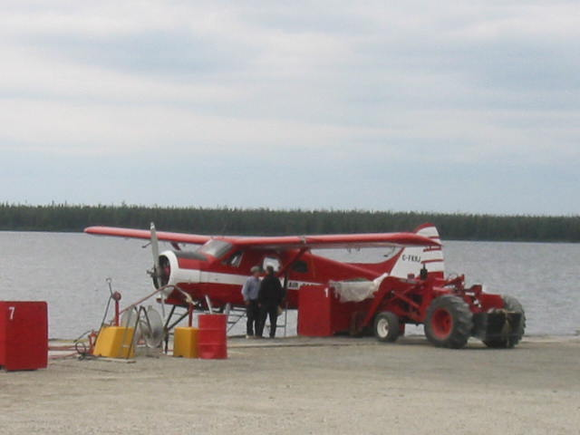 The float plane